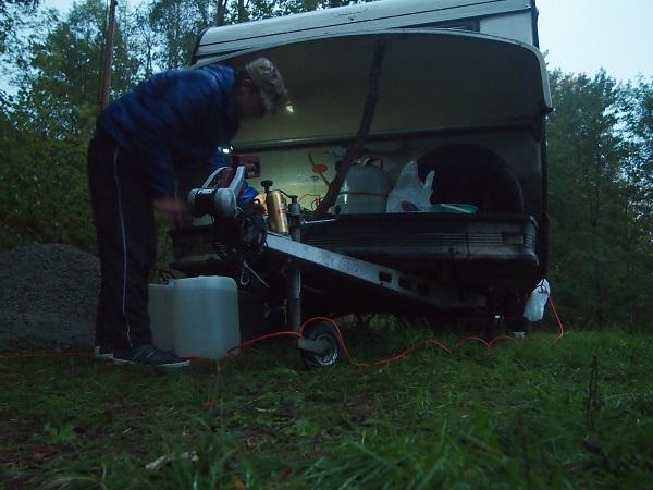 Gasklappe Hobby Wohnwagen