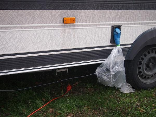 Camping Steckdose für Landstrom