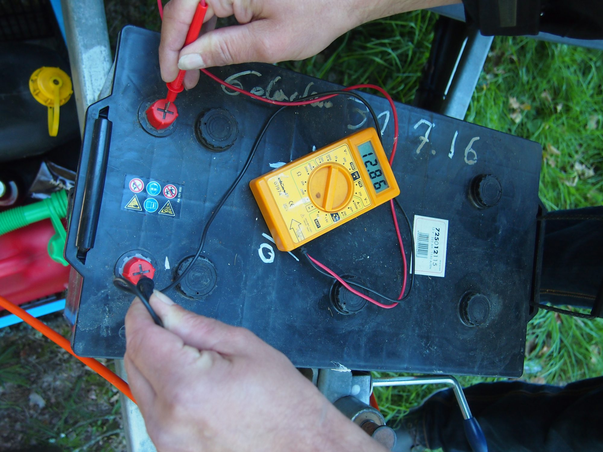 Strassenbahnbatterie