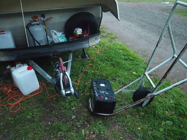 Batterie für den Wohnwagen