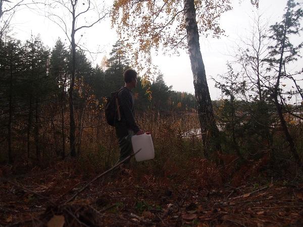 Seewasser trinken Schweden
