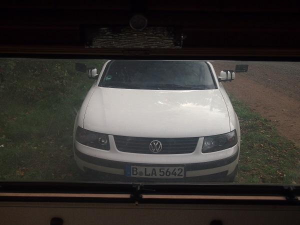 Windfang Wohnwagen