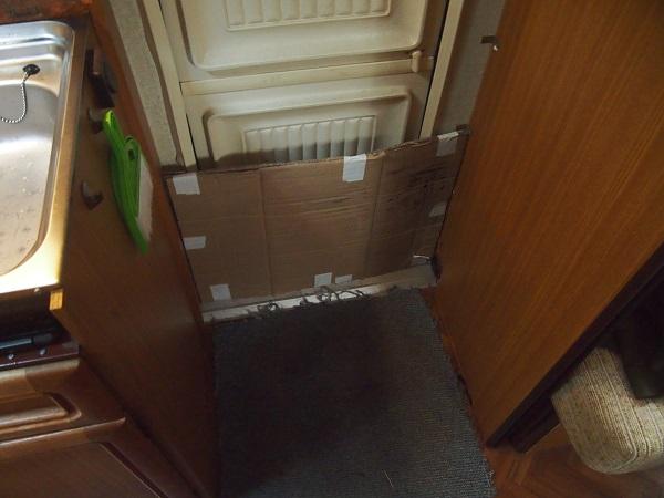 Wohnwagen Tür dämmen isolieren